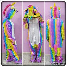 Пижама кигуруми Единорог радужный