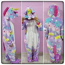 Пижама кигуруми звёздный единорог для взрослых