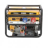 Генератор бензиновый PS 90 ED-3, 9,0кВт, переключение режима 230В/400В, 25л, электростартер// Denzel, 946944, фото 1