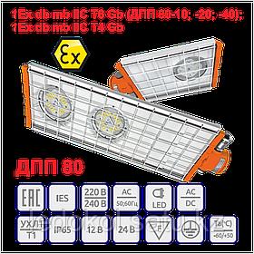 Взрывозащищенный Светильник серии ДПП 80