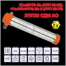 Взрывозащищенный Светильник серии ЛПП 50 СДМ АО
