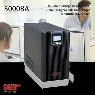 Линейно-интерактивный ИБП, EA600, 3000ВА/2400Вт