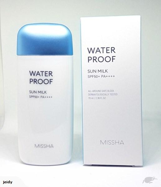 MISSHA MISSHA ALL-AROUND SAFE BLOCK WATERPROOF SUN MILK SPF50+/PA++++_