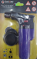 Горелка газовая, паяльник Turbo qiaoling Ql-001, синий, фото 1