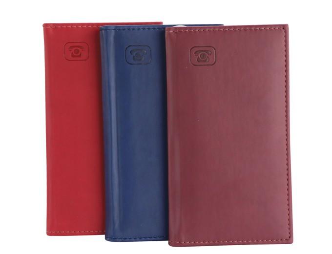Телефонная книжка А7 красная