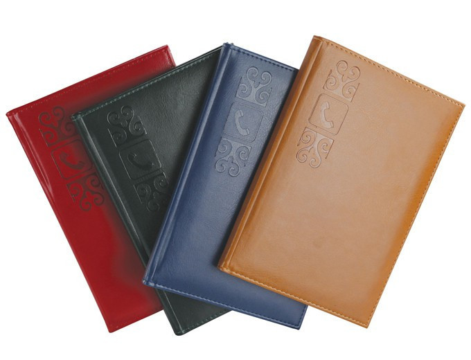 Телефонная книжка А5 красная