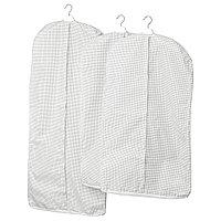 Чехол для одежды СТУК 3 шт белый/серый ИКЕА, IKEA, фото 1