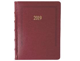 Датированный ежедневник А5 Foliant (Фолиант) красный