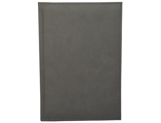 Полудатированный ежедневник А5 Simple (Симплэкс) серый