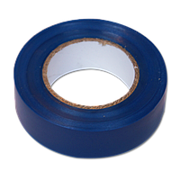 Изолента ПВХ 10х15х0,13мм, синий, фото 1