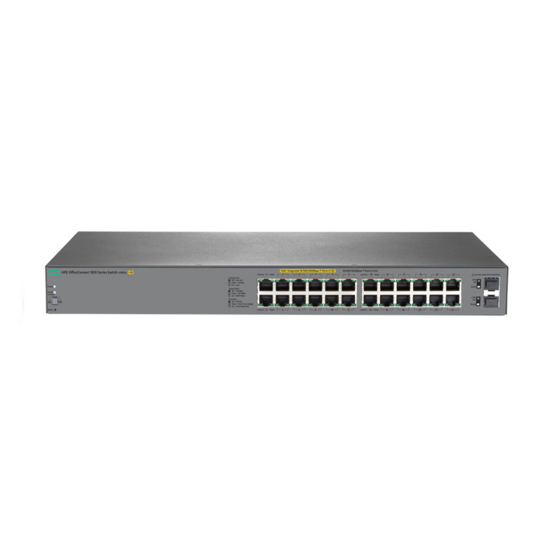 Коммутатор HP Enterprise/OfficeConnect 1820 24G 2SFP PoE+ (185W)