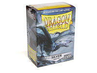 Протекторы Dragon shield матовые, цвет:Серебро, DS Sleeves: Matte Silver