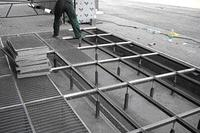 Решетки придверные стальные ячеистые, фото 1