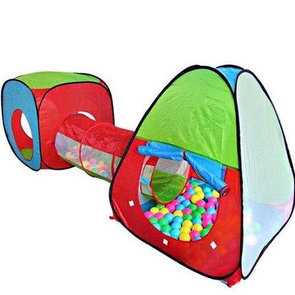 Детская палатка для игр с тоннелем Jian Kong A999-147, фото 2