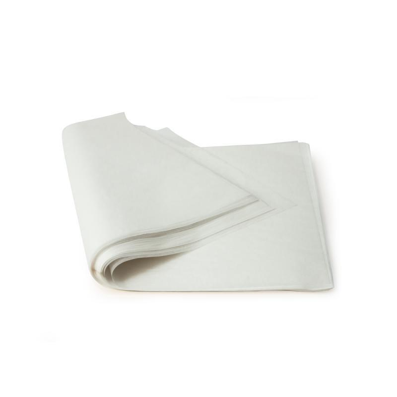 Бумага д/выпечки  в листах 40см х 60 см  500листов  в упаковке белая, 500 шт