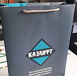 Бумажные пакеты,изготовление бумажных пакетов, изготовление ,печать пакетов в Алматы, фото 2