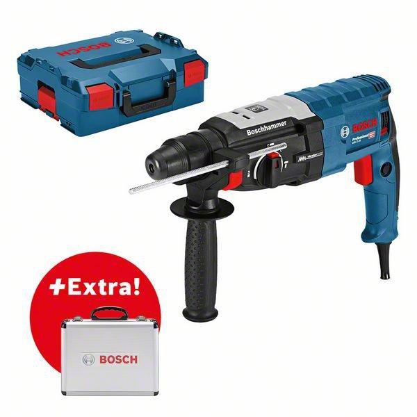 Перфоратор Bosch GBH 2-28 + 11 pcs SDS Plus set (0615990L42)