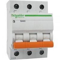Автоматический выключатель 11211 ВА 63 (3ф) 50А Schneider