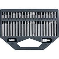 Набор бит HEX, TORX, SPLine, хвостовик-шестигранник 1/2, CrV, 42 шт. Stels