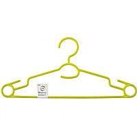 Вешалка пластиковая для легкой одежды 38 см, цветная Elfe