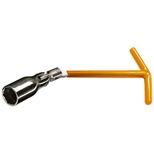 Ключ свечной, 21 мм, с шарниром Sparta