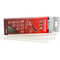 Стержни клеевые, прозрачные, 11 х 200 мм, в упаковке 6 шт Matrix