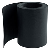 Бордюрная лента, 15х900 см, полипропиленовая, черная, Россия Palisad