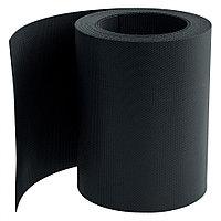 Бордюрная лента, 20х900 см, полипропиленовая, черная, Россия Palisad