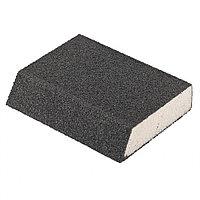 Губка для шлифования, 120 х 90 х 25 мм, трапеция, мягкая, P 60 Matrix