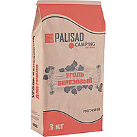 Уголь березовый, 3 кг Россия Camping Palisad
