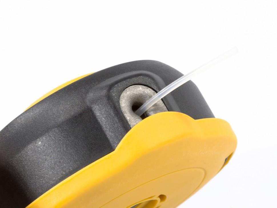 Катушка универсальная триммерная, гайка М8 х 1,25, гайка М10, винт М8-М10, левая резьба, шаг 1,25 мм Denzel - фото 4