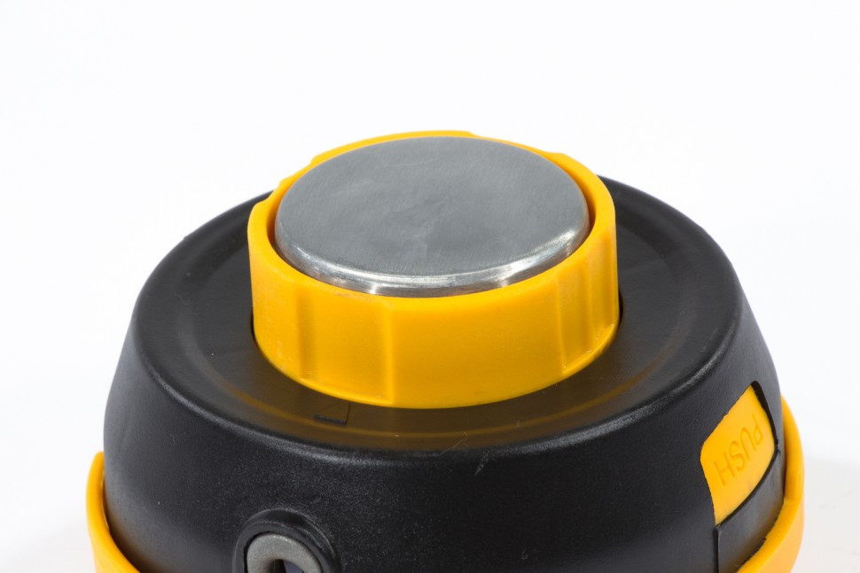 Катушка триммерная полуавтоматическая, легкая заправка лески, гайка M10x1,25, винт M10-M10, подшипник Denzel - фото 5