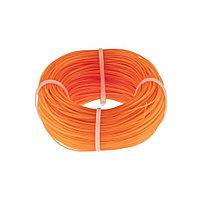 Леска строительная, 100 м, D 1 мм, цвет оранжевый Сибртех