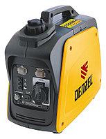 Генератор инверторный GT-950i, X-Pro, 0.9 кВт, 220 В, бак 2.1 л, ручной старт Denzel