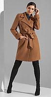 Пальто Lissana-3836, беж, 44