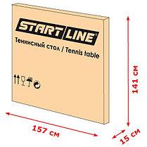 Всепогодный теннисный стол Start Line Compact Outdoor 2 LX с сеткой, фото 3