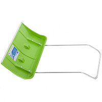 Движок для уборки снега пластиковый, 815х440х1150 мм, алюминиевая рукоятка, Россия Сибртех