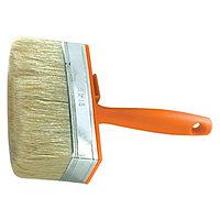 Кисть-ракля, 30 х 100 мм, натуральная щетина, пластмассовый корпус, пластмассовая ручка Sparta