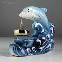 """Аромалампа """"Дельфин"""", микс, 18 см"""