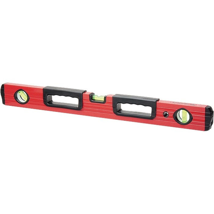 Уровень алюминиевый, 1800 мм, фрезерованный, 3 глазка, две эргономичные ручки Matrix