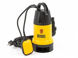 Дренажный насос DP900, 900 Вт, подъем 8,5 м, 14000 л/ч Denzel