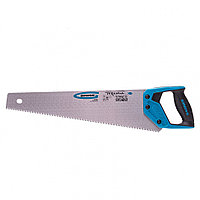 "Ножовка по дереву ""Piranha"", 450 мм, 7-8 TPI, зуб-3D, каленый зуб, двухкомпонентная рукоятка Gross"