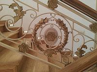 Кованые декоративные лестничные ограждения