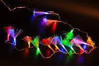 Гирлянды светодиодные, новогодние, уличные Сетка, Водопад, Шторка, Бахрома, Струна, Нить, Twinkle Light, фото 2