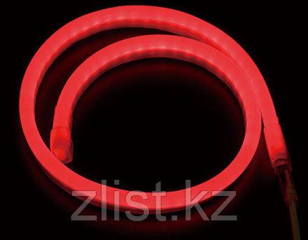 Гибкий неон, 220в Flex Neon, гибкий неон, холодный неон, флекс неон, неоновый шнур Цвет: красный