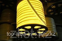 Гибкий неон, 220 в Flex Neon, гибкий неон, холодный неон, флекс неон, неоновый шнур Цвет: желтый