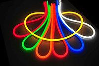 Гибкий неон, 220 в Flex Neon, гибкий неон, холодный неон, флекс неон, неоновый шнур Цвет: желтый, фото 3