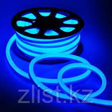 Гибкий неон, 220 в Flex Neon, гибкий неон, холодный неон, флекс неон, неоновый шнур Цвет: синий