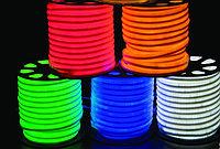 Холодный неон, 220 в Flex Neon, гибкий неон, холодный неон, флекс неон, неоновый шнур Цвет: зеленый, фото 6
