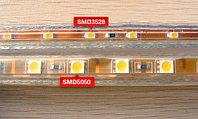 Светодиодная лента SMD 3528, 220 v в пвх оболочке. , фото 5